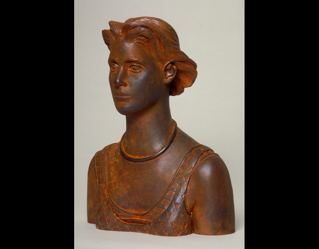 "6 of 14: Bust Urn, 2000, Carbon Steel10½"" x 8½"" x 4½"""