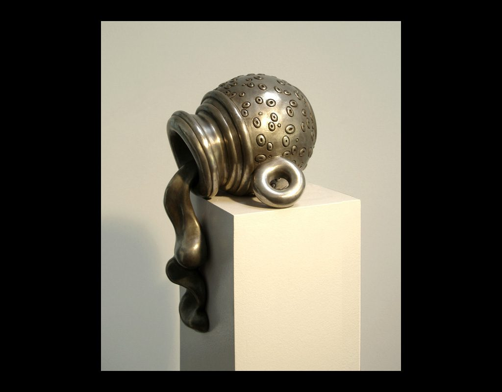 "8 of 17: Drool, 2005, Bronze, 11½"" x 7½"" x 5½"""