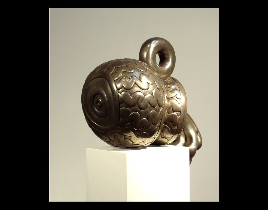 "2 of 17: Spurt, 2005, Bronze, 9½"" x 12&frac12"" x 11"""