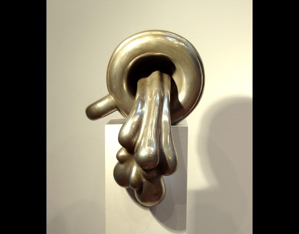 "17 of 17: Spill, 2005, Bronze, 8¼"" x 9¾"" x 5½"""