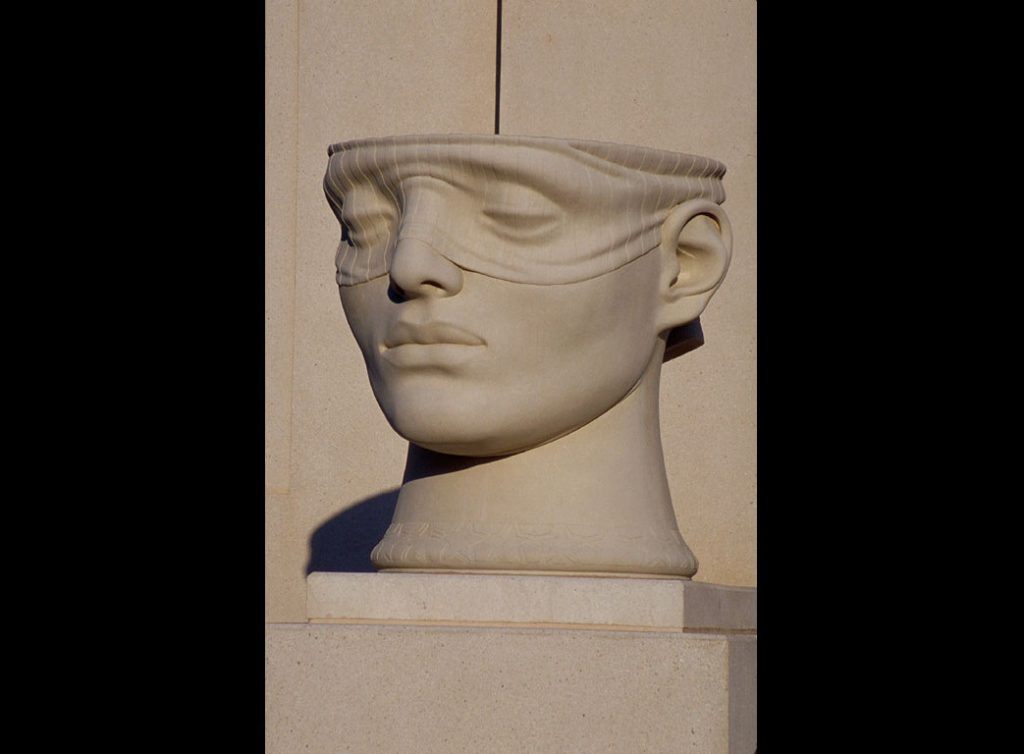 "2 of 4: Urns of Justice, 2000, GFRC Concrete, 5'5"" x 5'8"" x 6'John M. Shaw Federal Courthouse, Lafayette, LA"