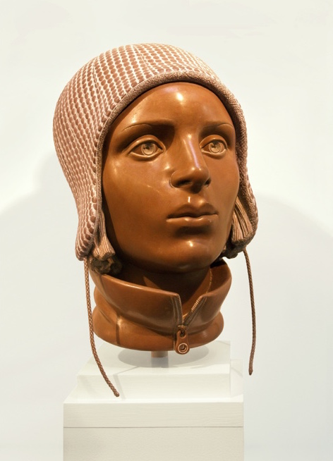 "3 of 21: Terra Cotta Head, 2012, Forton MG, 12½"" x 8"" x 9½"""