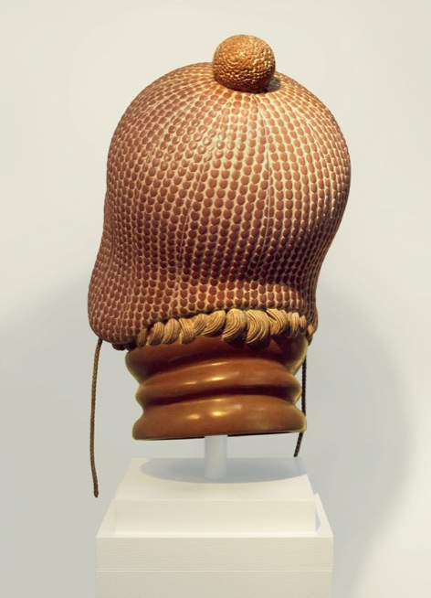 "4 of 21: Terra Cotta Head, 2012, Forton MG, 12½"" x 8"" x 9½"""