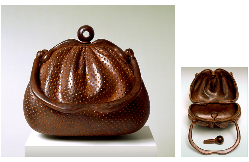 "5 of 8: Purse of Plenty, 2002, Carbon Steel, 8¾"" x 9"" x 8½"""