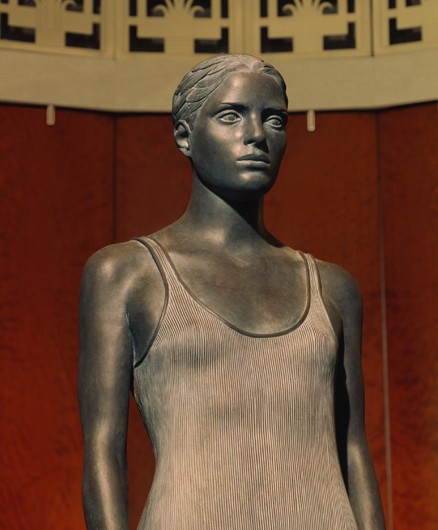 "4 of 4: Source, 1999, Bronze, 6'6"" x 18"" x 19"",Hamilton Square Office Building, Washington, DC"