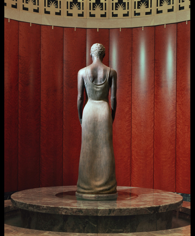 "3 of 4: Source, 1999, Bronze, 6'6"" x 18"" x 19"",Hamilton Square Office Building, Washington, DC"