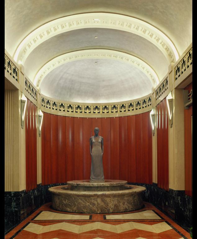 "1 of 4: Source, 1999, Bronze, 6'6"" x 18"" x 19"",Hamilton Square Office Building, Washington, DC"