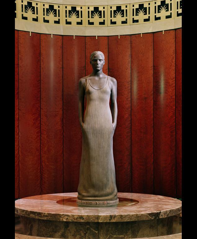 "2 of 4: Source, 1999, Bronze, 6'6"" x 18"" x 19"",Hamilton Square Office Building, Washington, DC"